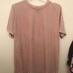 Simple patterned cream shirt